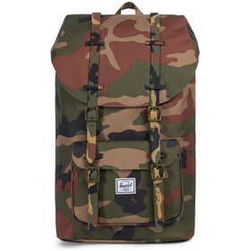 Herschel Little America Plecak, oliwkowy/brązowy